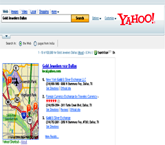 Yahoo Local Business Listing